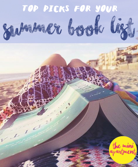 THE MINI APARTMENT summer book list