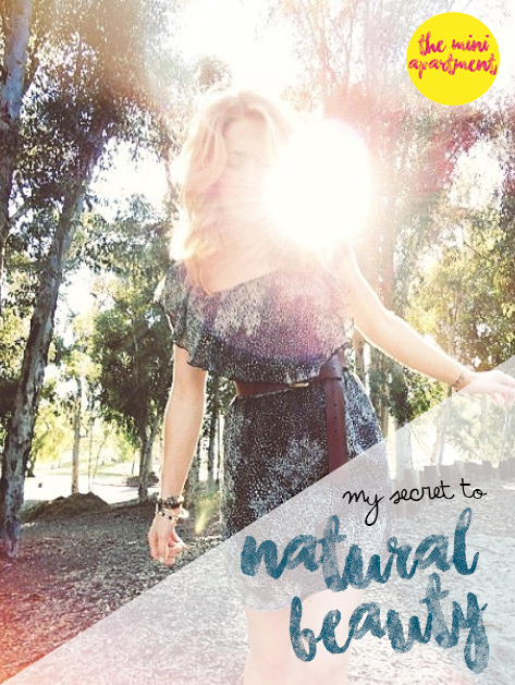 THE MINI APARTMENT natural beauty secrets