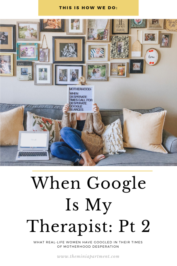 Motherhood and Google letterboard