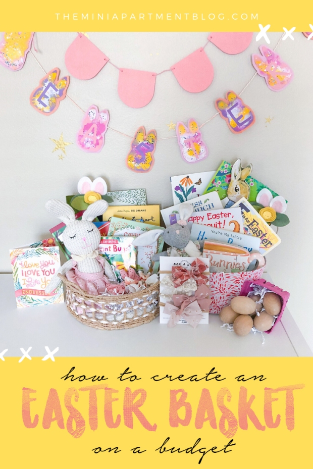 how to create a diy easter basket on a budget