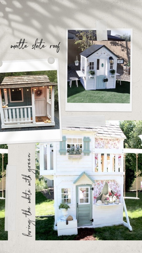 playhouse makeover inspiration